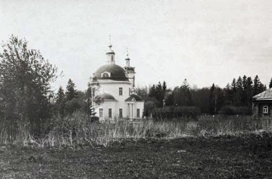 Покровский храм. 1900-е. Семейный архив А.К. Пономарёва-Шлиппе (Канада)