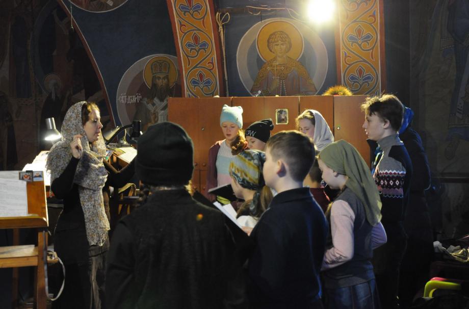 Детский хор Никольского собора