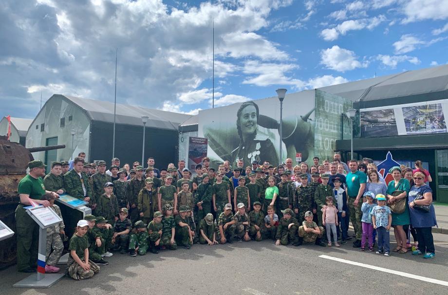 Семейный выезд патриотического клуба Наро-Фоминского благочиния «Верейская застава»