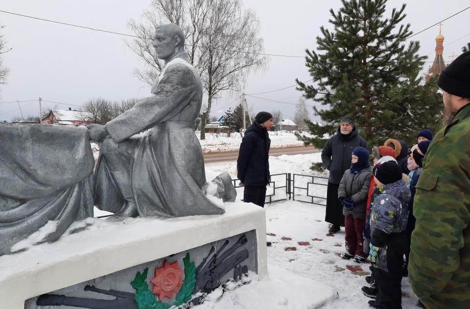 Поход по местам боевой славы Наро-Фоминского округа