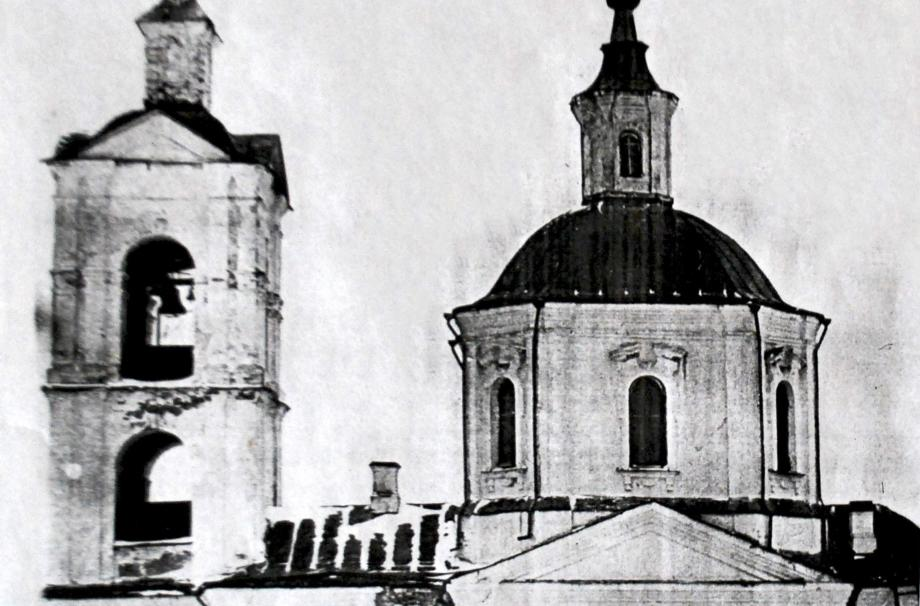 Храм Николая Чудотворца в селе Субботино. 1900-е