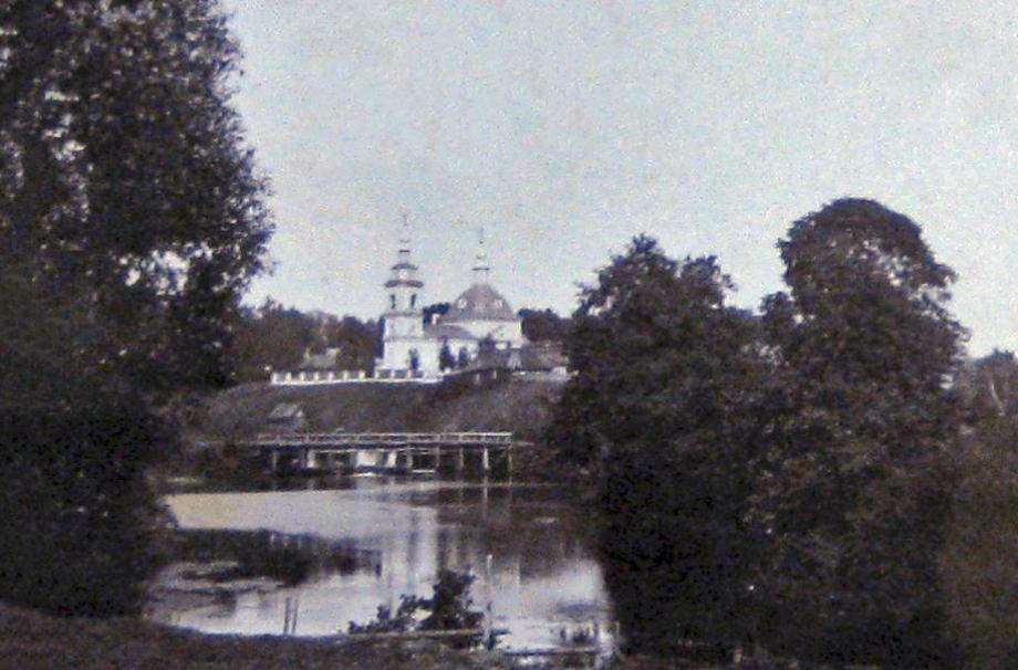 Христорождественский храм. 1909. Фото А.Н. Ильина. НИОР РГБ (Публикуется впервые)