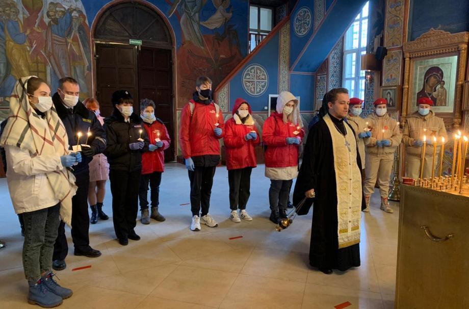 День памяти жертв ДТП в Наро-Фоминском Никольском соборе