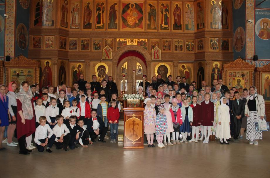 Фестиваль детских хоров, чтецов, звонарей в Наро-Фоминском округе.