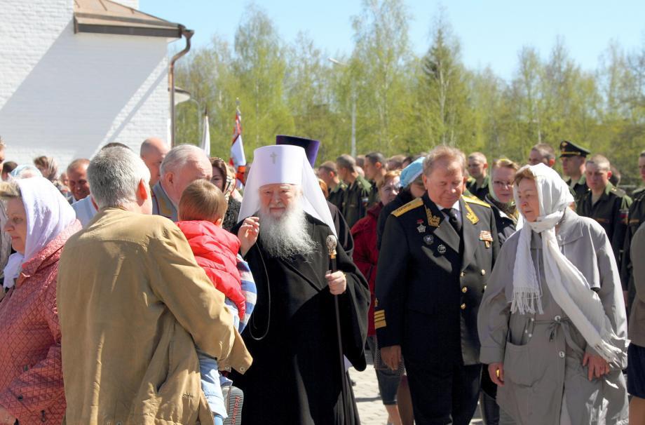 Освящение нового храма в  честь великомученика Георгия Победоносца