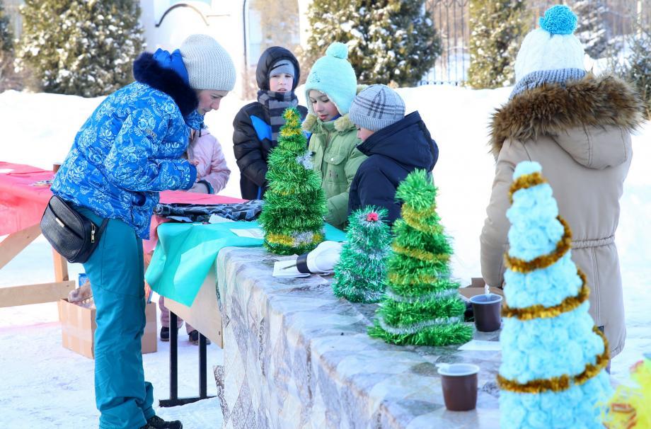 Рождественская ярмарка в Апрелевке