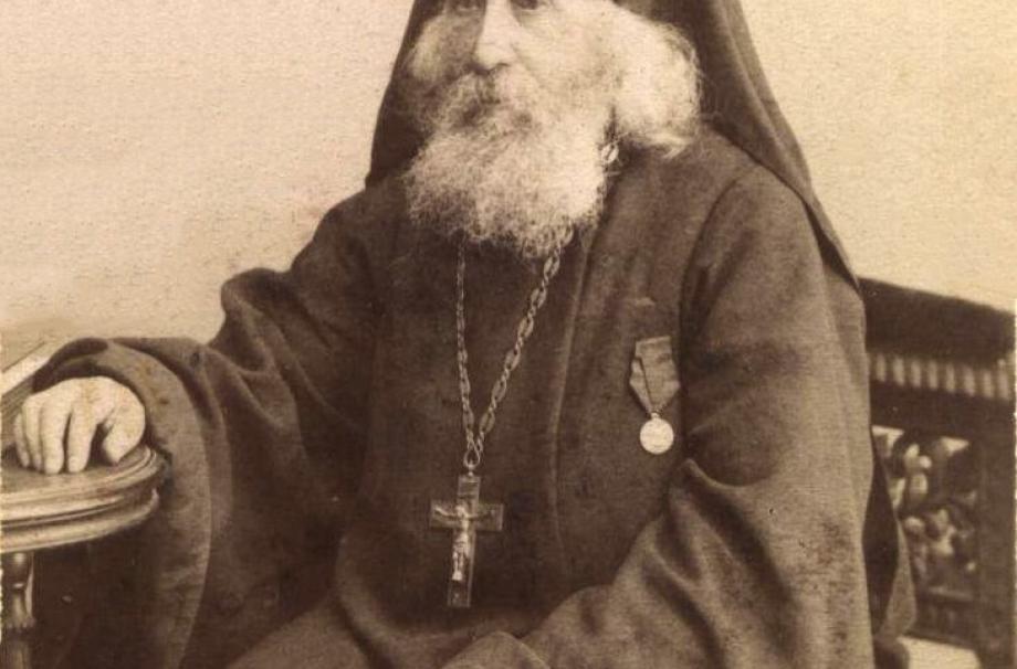 Преподобный Варнава Гефсиманский (1831-1906). Фото начала ХХ века
