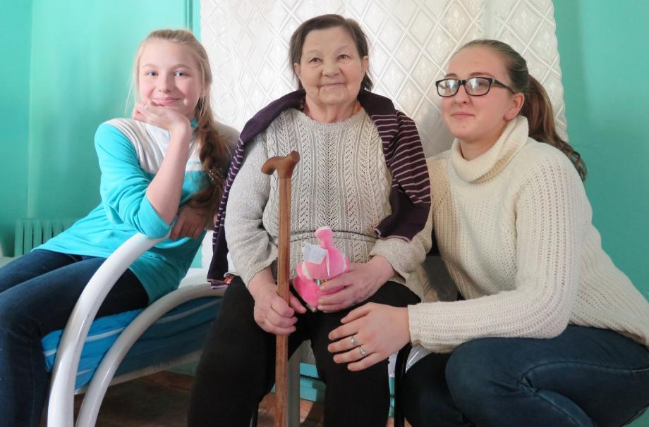 Верейская Застава в доме престарелых 2017