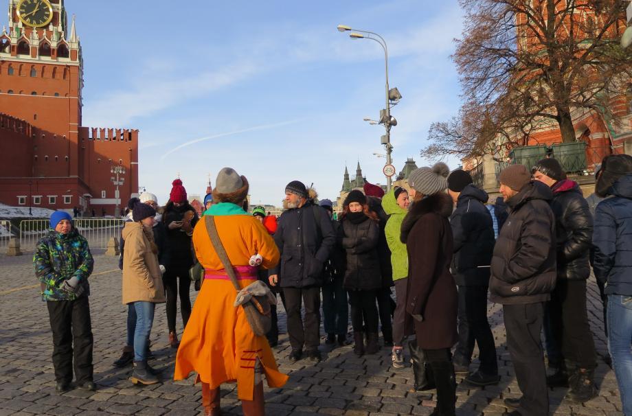 Историческая экскурсия по  Москве участников военно-патриотического клуба.