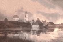 Село Симбухово. 1914. Фото И. Введенского. Архив Подбородниковых (Публикуется впервые)
