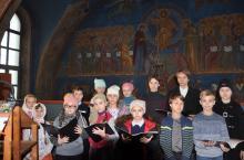Первое богослужение детского хора Никольского собора г. Наро-Фоминска