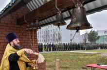 В Кантемировской танковой дивизии состоялось освящение колоколов